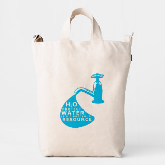 Water Conservation Duck Bag