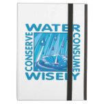Water Conservation iPad Folio Case