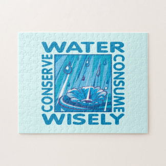 Water Conservation Jigsaw Puzzle
