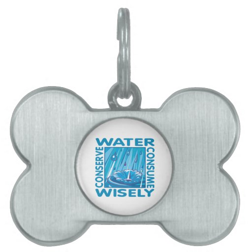 Water Conservation Pet Tag