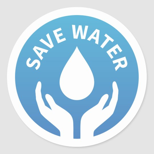 Water_conservation_save_water_badge_sticker 217645926253286455 on Uses Of Water For Kids Clipart