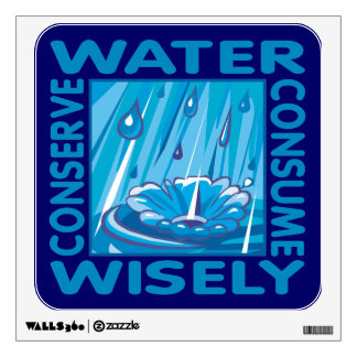 Water Conservation Room Graphics