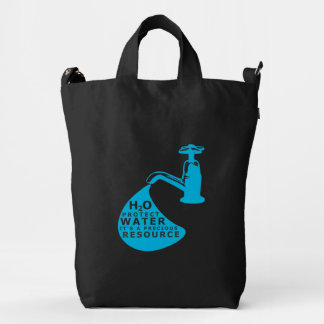 Water Conservation World Water Day Duck Bag