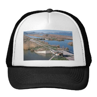 Water Control Structure, Bear River National Wildl Trucker Hats