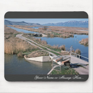 Water Control Structure, Bear River National Wildl Mouse Pad