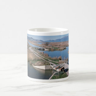 Water Control Structure, Bear River National Wildl Coffee Mugs