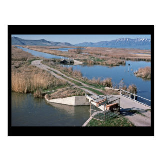 Water Control Structure, Bear River National Wildl Postcards