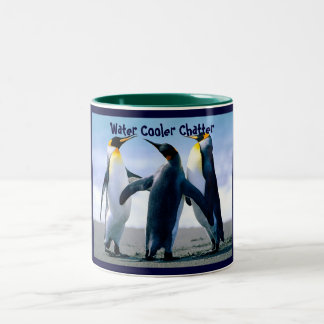 Water Cooler Chatter Two-Tone Coffee Mug