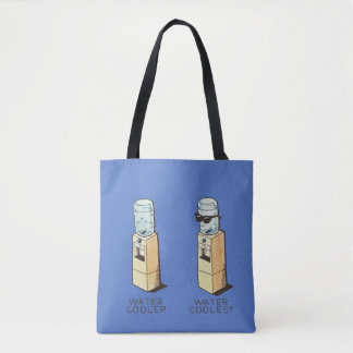 Water cooler, water coolest tote bag