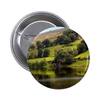 Water Country Cottage Lake Pinback Button