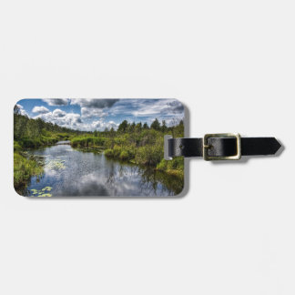 Water Country River Ponds Luggage Tags
