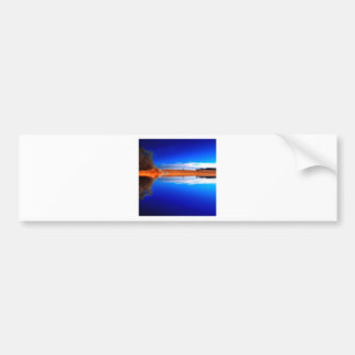 Water Crystal Clear Above And Below Bumper Sticker
