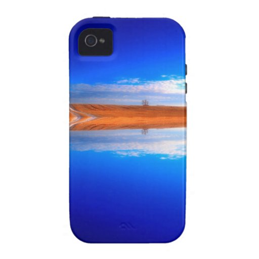 Water Crystal Clear Above And Below Vibe iPhone 4 Cover