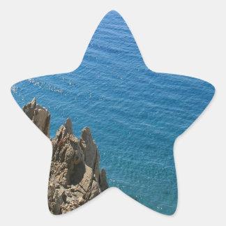 Water Crystal Clear Seashore Sticker