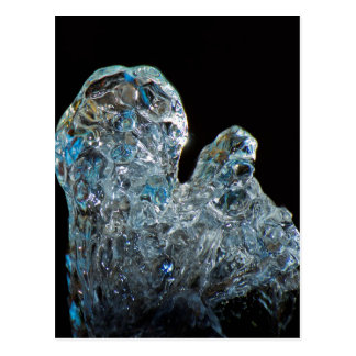 Water Crystal Fine Art Image Postcard