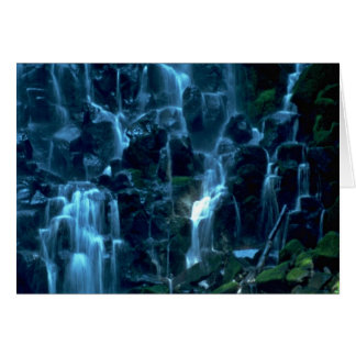 Water Curtains Greeting Card