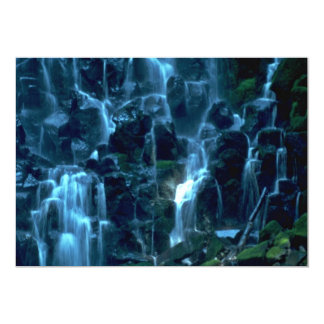 Water Curtains 5x7 Paper Invitation Card