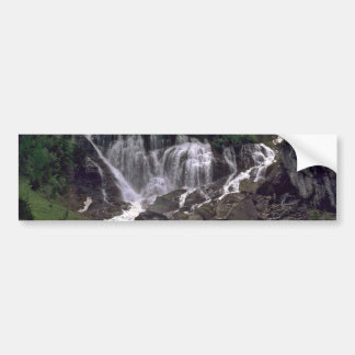 Water Curtains On The Rocks Bumper Sticker