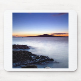 Water Dawn Approaches Misty Sea Mouse Pad