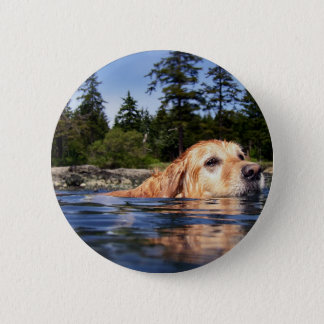 Water Dog - Button