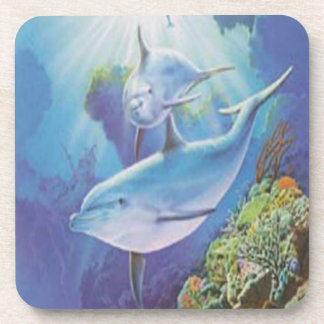 Water Dolphin Coasters