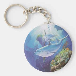Water Dolphin Key Chain