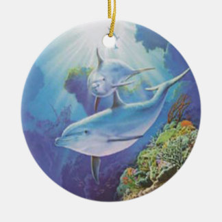 Water Dolphin Ornament