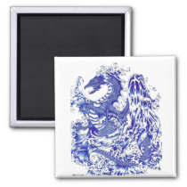 Water Dragon (Anthony Derrico) Magnet