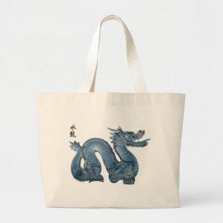 Water Dragon Jumbo Tote Bag