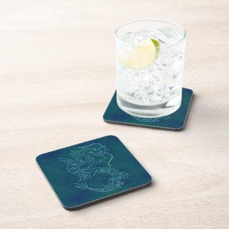 Water Dragon Beverage Coaster