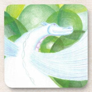 Water Dragon Cork Coaster