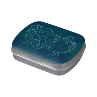 Water Dragon Jelly Belly Candy Tin