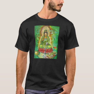 """Water Dragon"" Kuan Yin T-shirt"