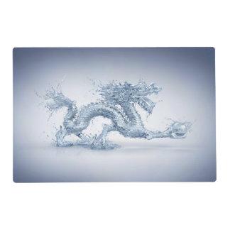 Water Dragon Laminated Placemat