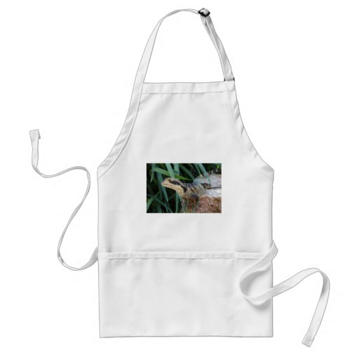 Water Dragon Looking at You... Adult Apron