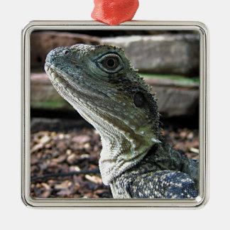 Water Dragon Metal Ornament