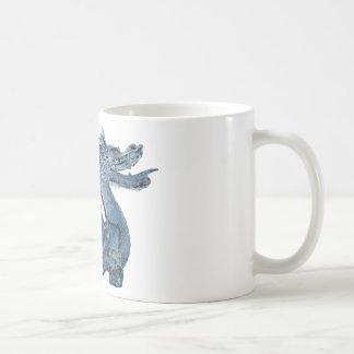 Water Dragon Classic White Coffee Mug