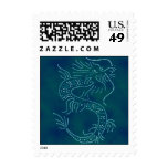 Water Dragon Postage Stamps