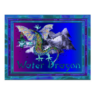 Water Dragon Postcard