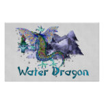 Water Dragon Posters