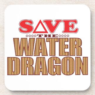 Water Dragon Save Drink Coaster