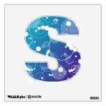 Water Drips Alphabet Room Decal