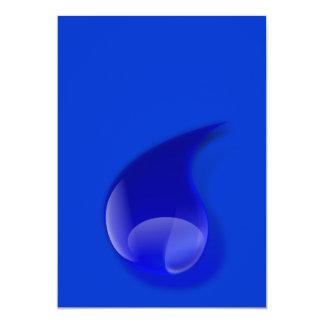 water_drop_2_Vector_Clipart 5x7 Paper Invitation Card