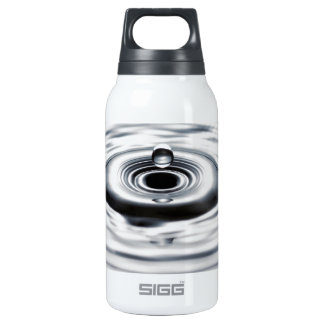 Water drop 8 insulated water bottle