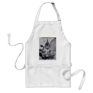 Water Drop Adult Apron
