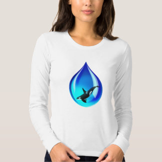 Water Drop and Orca Shirt