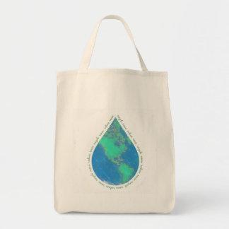 Water Drop Earth Bag