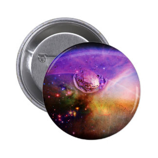 Water Drop in Violet Magic Button