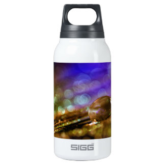 Water drop insulated water bottle