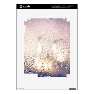 Water Drop on Glass 2 iPad 3 Decal